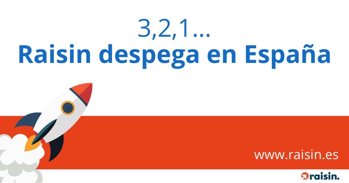 Raisin lanza en España su plataforma para ahorradores